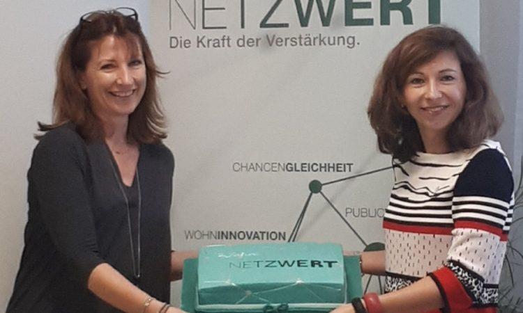 2. Geburtstag von NETZWERT  und Firmenbesuch bei GWS in Graz