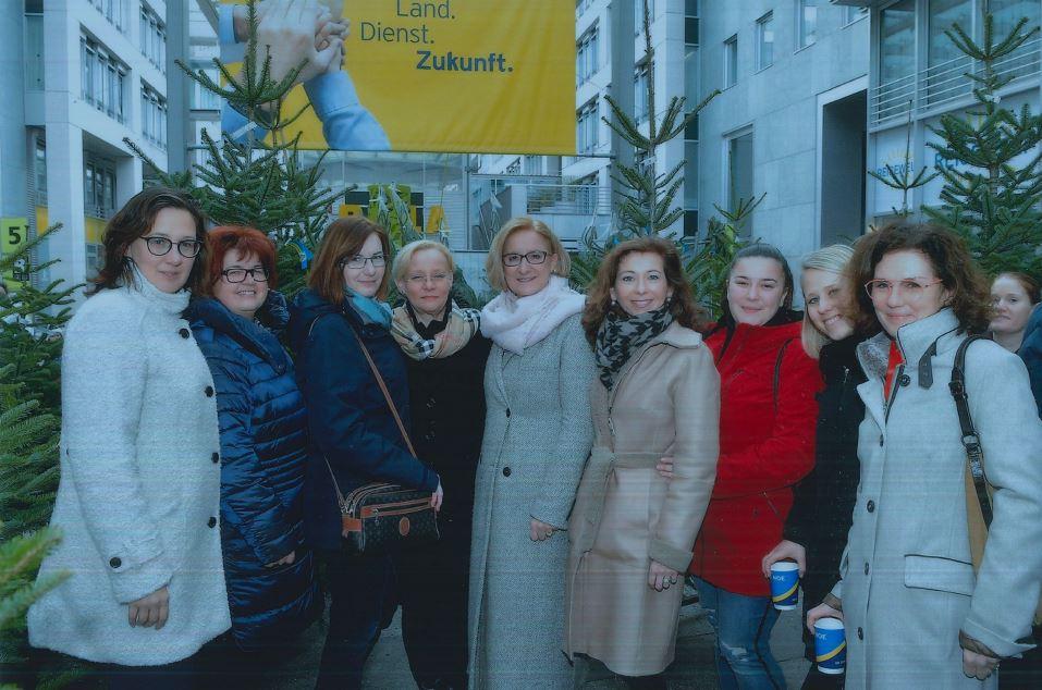 Weihnachtstreffen in St. Pölten mit LH Mikl-Leitner